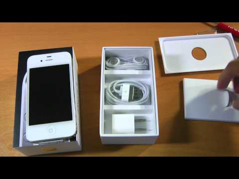 Unboxing: iPhone 4 (8GB White)