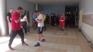 Закулисье Евробокса 2017 - Украина-Албания - разминка перед боем - 18.06.2017