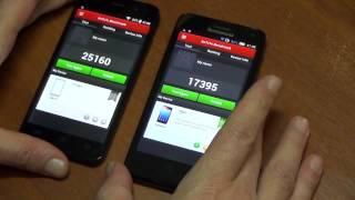 Сранение двух топовых смартфонов 4.7 дюйма от JiaYu G4S и Lenovo s660