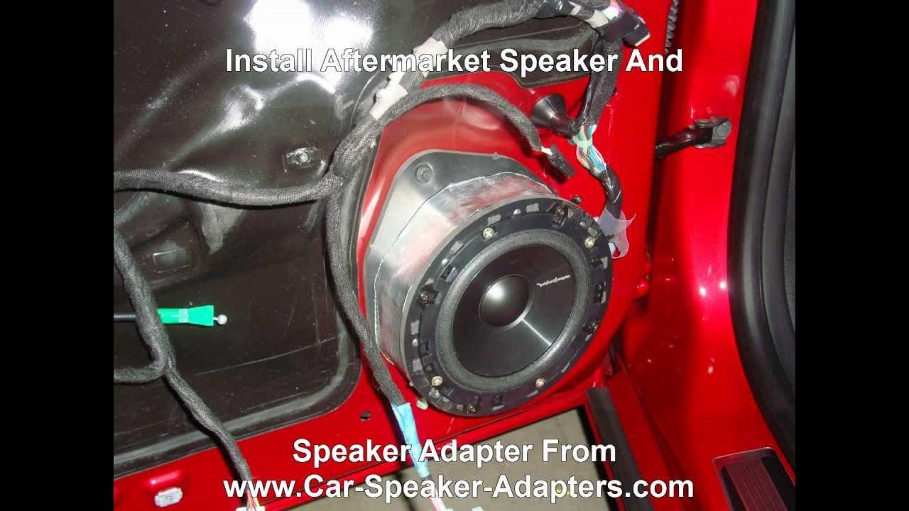 2013 Camaro Radio Wiring Diagram How To Replace Front Door Speakers In A Chevrolet Camaro