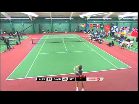 2014 U18 Indoor Rogers Junior National Singles Championship pt. 1
