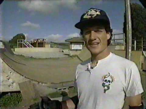 1990 - Sk8 TV - Mike McGill at his skatepark