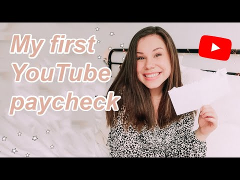 MY FIRST YOUTUBE PAYCHECK | How I Got Monetized In 8 Months