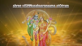 Sri Vishnu Sahasranamam Stotram | Full with Lyrics in English | T S Ranganathan | Official Video.mp3