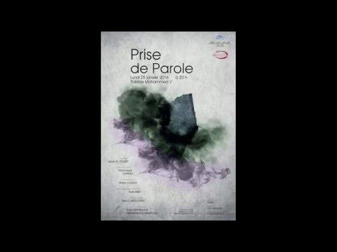 """Pièce de théâtre """"Prise de Parole"""" sur la Radio Chaine Inter - Rabat"""