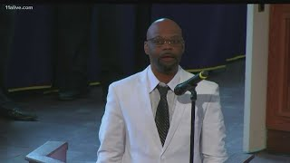 Rayshard Brooks Funeral | Cousin delivers remarks