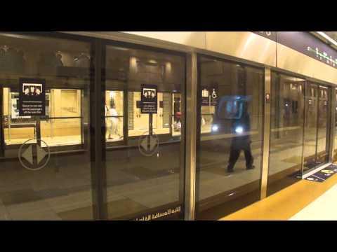 Most Beautiful Metro Station- Dubai HD
