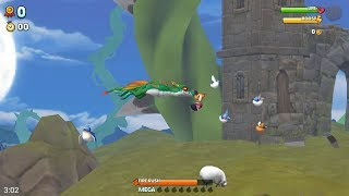 Hungry Dragon (by Ubisoft Entertainment) - arcade game for android and iOS - gameplay.