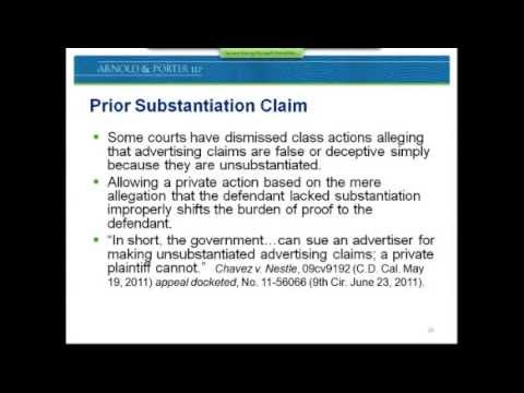 Latest Trends in Food Labeling & Advertising Class Actions