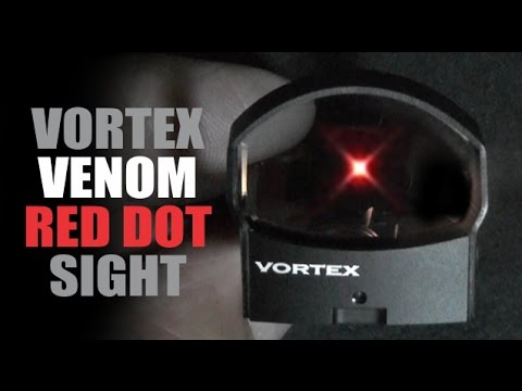 Vortex Venom Red Dot Sight (VMD-3103) Unboxing (and brief review)