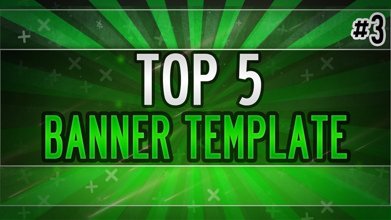 Free GFX: TOP 5 BANNER TEMPLATE #3 | Photoshop CS6 & CC | Free Download |  by itzJ4Y by Flexy - CSGO Videos