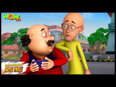 Kids TV Shows | Cartoons | Motu Patlu New Episodes | Social Media | Wow Kidz