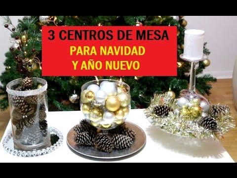 C mo armar un hermoso centro de mesa doovi - Centros de mesa navidenos faciles ...