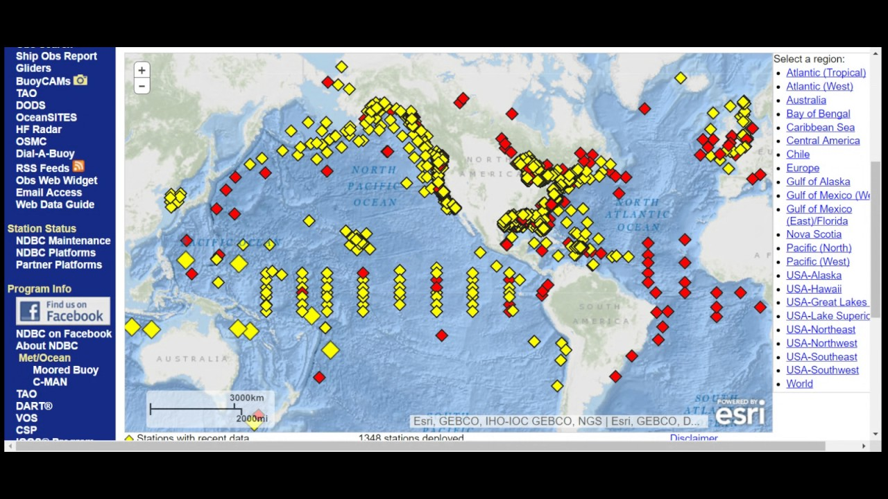 Nov 13  07 Pm Gmt 7 07 Am Est W Pacific Active Tsunami Buoys