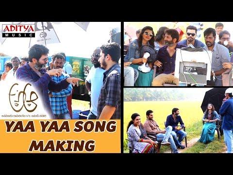 Making of Yaa Yaa Song || A Aa Telugu Movie || Nithiin, Samantha , Trivikram, Mickey J Meyer