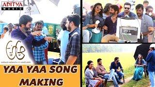 Download Hindi Video Songs - Making of Yaa Yaa Song || A Aa Telugu Movie || Nithiin, Samantha , Trivikram, Mickey J Meyer
