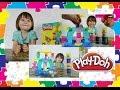 Пластилин Плей До! Распаковка набора Мороженное и десерты! ( Unpacking the kit Play Doh)