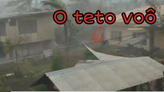 Tufão nas Filipinas AO VIVO!