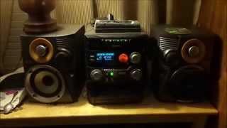 fwc550 Philips mini hifi stereo system