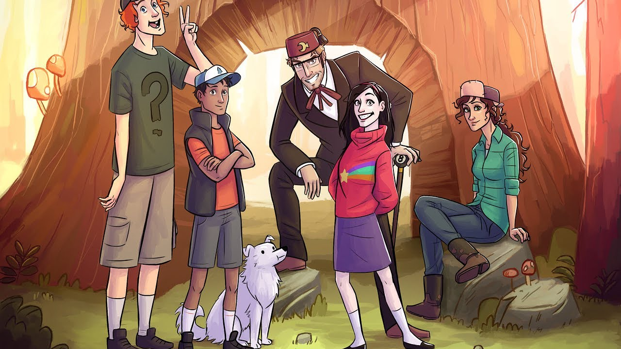 Download Gravity Falls S01E19 Dreamscaperers 1080p WEB DL AAC2 0 H 265 HEVC