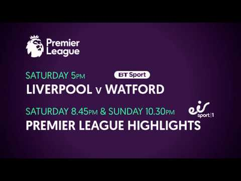 Premier League: Liverpool v Watford this Saturday
