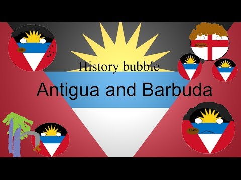 History bubble Antigua and Barbuda