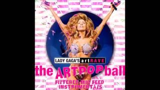 Lady Gaga artRAVE Paris Instrumental - Just Dance, Poker Face & Telephone