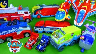 Complete Paw Patrol Toys Collection Vehicles #18 Pit Stop Truck Mighty Pups Twins Jet Paw Patroller