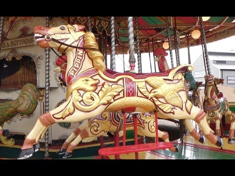 Riding The Victorian Merry Go Round Carousel