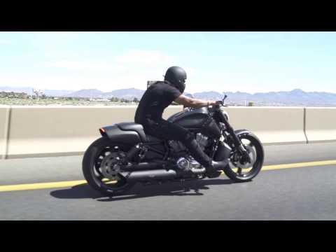 Custom V-Rod Muscle Cruising