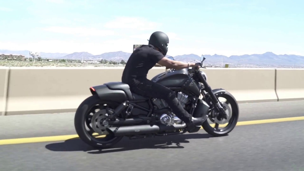 Custom V-Rod Muscle Cruising - YouTube