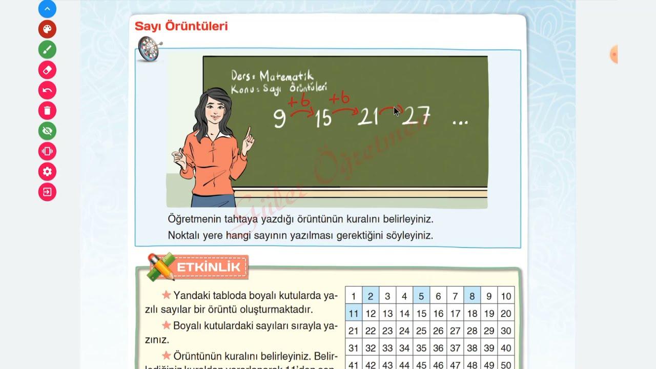 4. Sınıf Matematik Ders Kitabı Sayı Örüntüleri, Sayfa 31-33