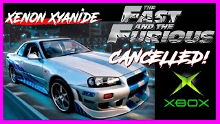 CANCELLED VIDEO GAMES: The Fast and The Furious (Xbox, PS2) 2003