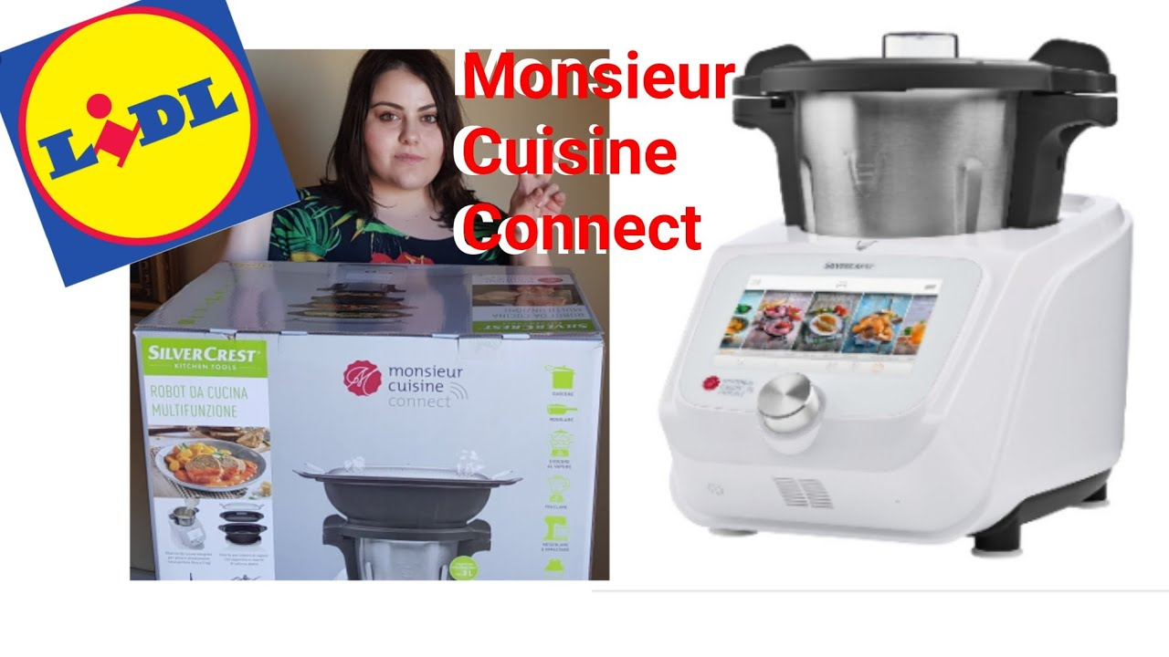 MONSIEUR CUISINE CONNECT Spacchettamento + Configurazione del simil Bimby  del Lidl by Silvercrest