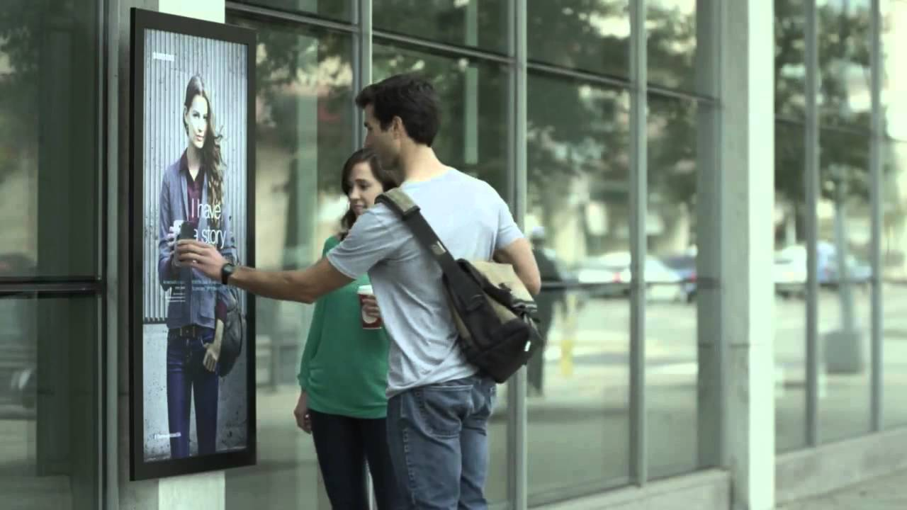 Make Your Outdoor Advertising Interactive Near Field