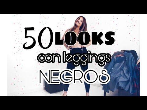 50 LOOKS con leggings negros ♡ edición primavera | Sara Bruno thumbnail