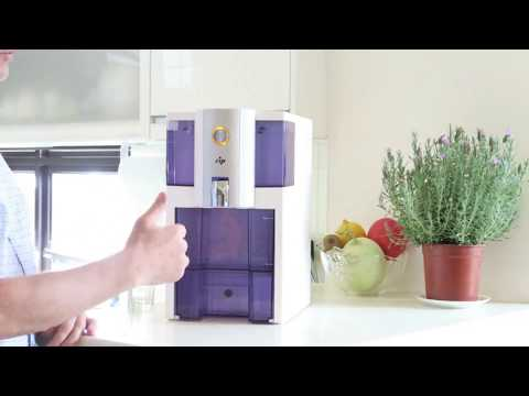 Zero Installation Purifier Countertop Reverse Osmosis Water Filter Demo.