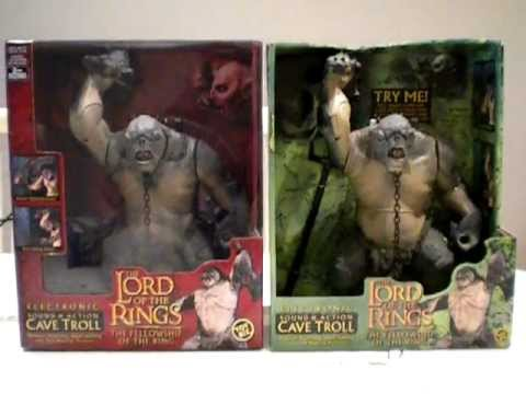 Cave Troll Black Lord Of The Rings Chess Set Eaglemoss Figures Loading Zoom