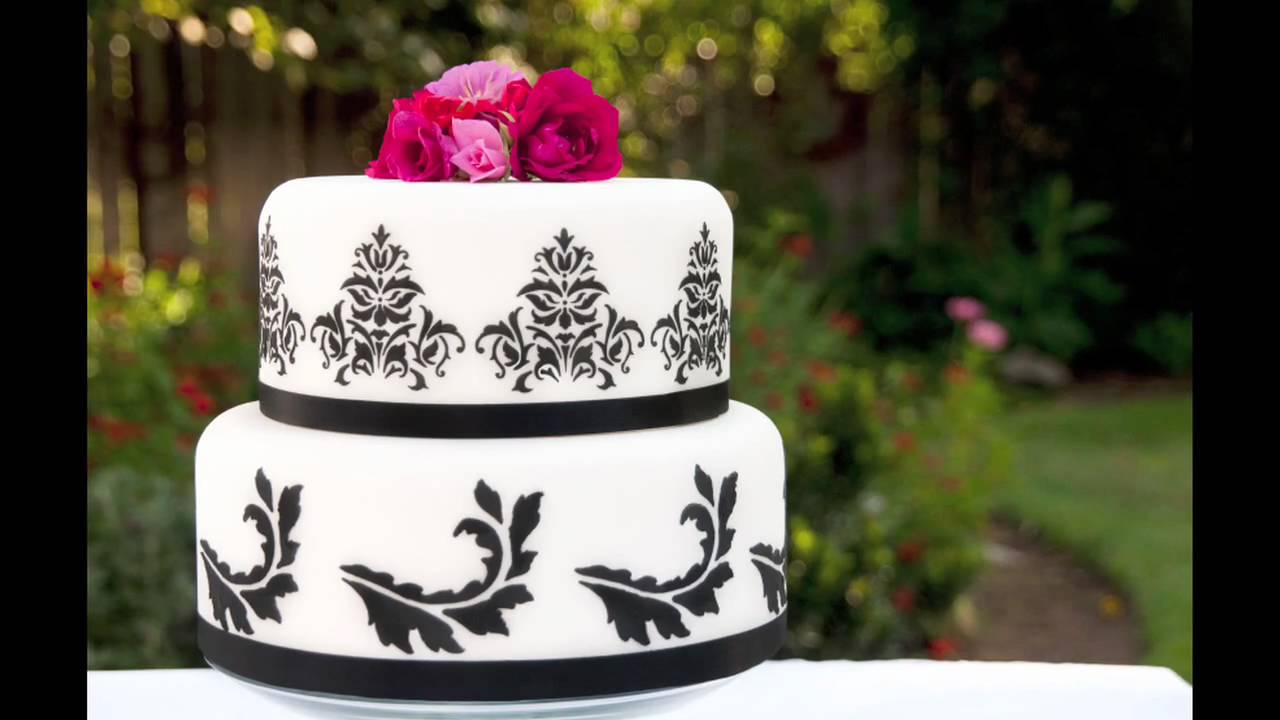 Cake Ideas For Small Wedding : Small Wedding Cake Ideas - YouTube
