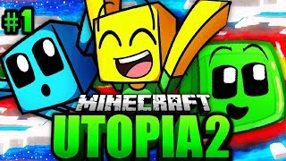 Das CHAOS ABENTEUER BEGINNT?! - Minecraft UTOPIA 2 #001 [Deutsch/HD]