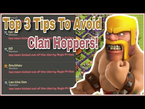 (HINDI) 3 Best Tips to Avoid clan HOPPER'S in your clan | CLASH OF CLANS