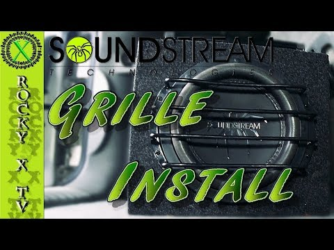 Soundstream T5 Subwoofer Grille Modification & Installation