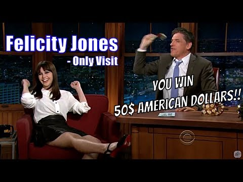 Felicity Jones  Gets The Trivia Right With Only 2 Guesses  Her Only Appearance