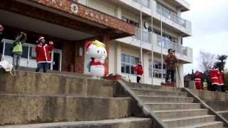 たかたのゆめちゃん 100人サンタさんと恋するフォーチュンクッキー踊ったよ☆彡