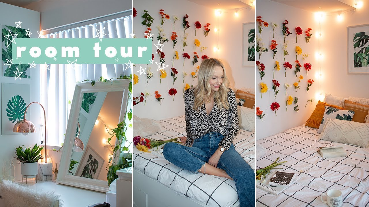 ROOM TOUR 2019! small bedroom decor ideas + inspo