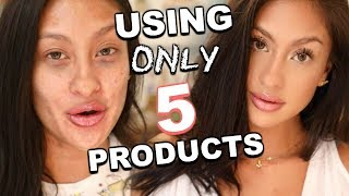 """Baixar """"REAL LIFE"""" Makeup Routine! Super minimal & on the GO 