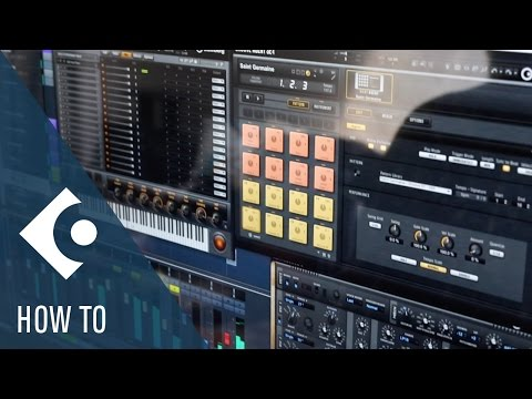 How To Be Creative With VST Instruments And The Chord Track | Getting Started With Cubase  Pro 9