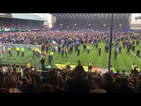 Portsmouth FC pitch invasion