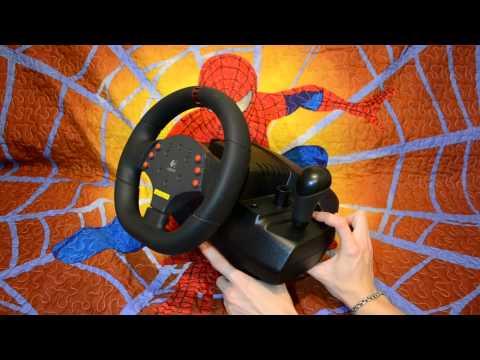 Обзор Руля Logitech MOMO Racing Force Feedback Wheel