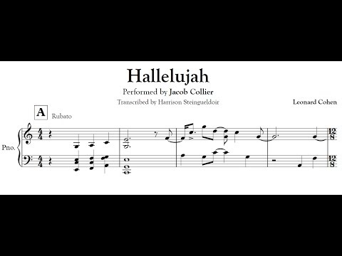 Hallelujah - Jacob Collier transcription